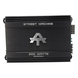Autotek Sma2100.4 Street Machine(r) 4-channel Class Ab Amp (2,100 Watts)