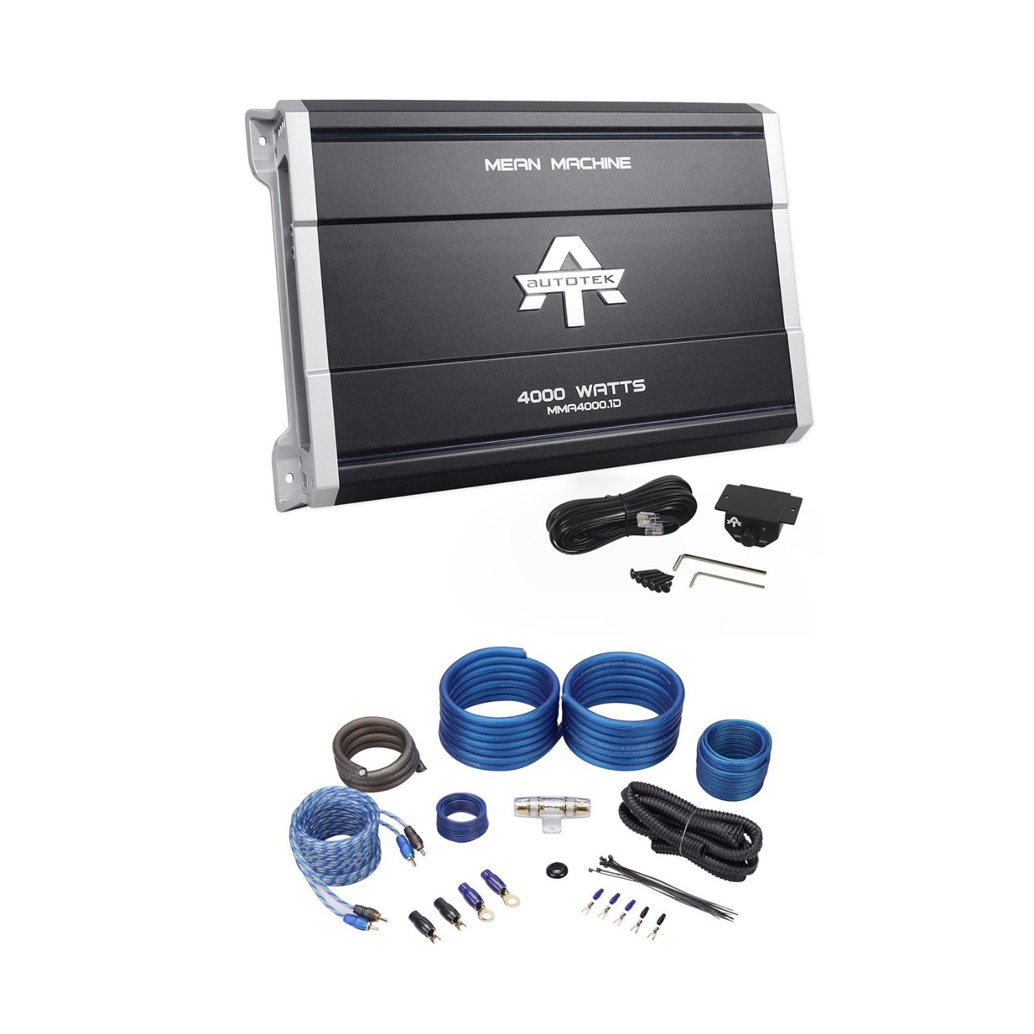 Autotek MMA4000.1 4000 Watt Monoblock Car Audio Amplifier Mean ...
