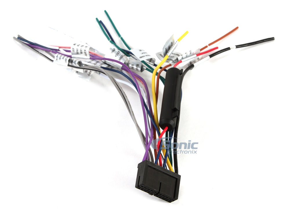 power acoustik headrest dvd wiring