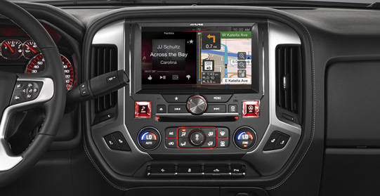 Alpine X110-SRA 10-INCH IN-DASH RESTYLE SYSTEM FOR GMC ...