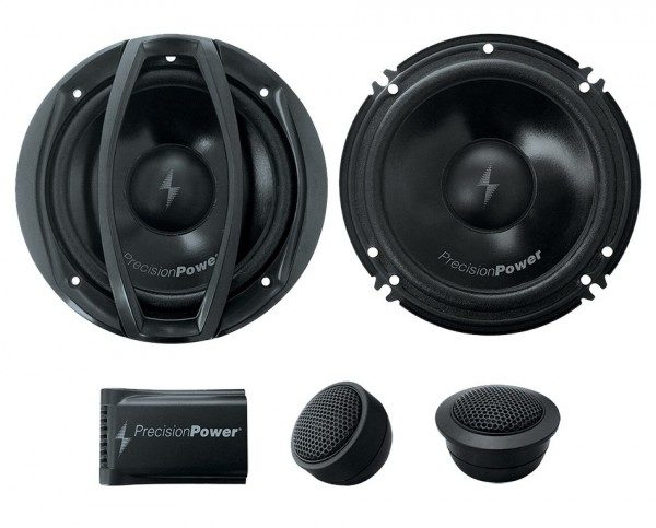 Precision Power P.65C2 300w Max 6.5 Power Class 2-Way Component Car Speakers